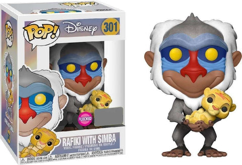 POP The Lion King Rafiki With Baby Simba Vinyl Figure