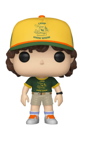 Funko POP! Television Stranger Things Dustin at Camp Vinyl Figure