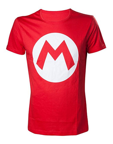 Nintendo Super Mario Bros. Big Mario Logo Men's T-Shirt