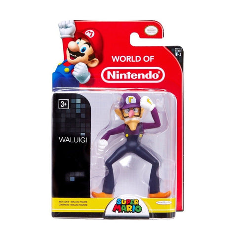 World of Nintendo 6cm Waluigi Figure