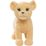 Disney Lion King Live Action Large Plush with Sound (Assorted One Piece Simba/Nala)