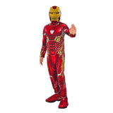 Kids Avengers: Endgame Economy Iron Man Mark 50 Suit Costume