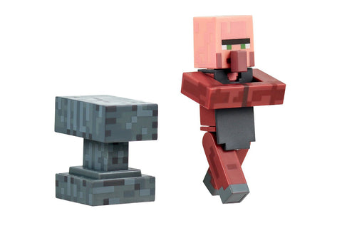 Minecraft Villager Blacksmith with Accessory