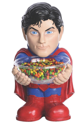 Superman Halloween Party Decor Candy Holder
