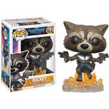 POP Guardians of the Galaxy Vol 2 Rocket Raccoon Vinyl Figure