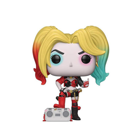 Funko POP! Heroes DC Harley Quinn with Boombox EXC Vinyl Figure