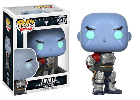 Funko POP Destiny 2 Zavala Vinyl Figure