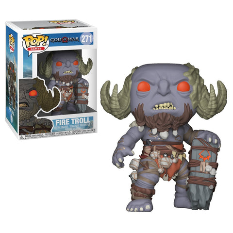 Funko POP God Of War Fire Troll Vinyl Figure