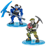 Fortnite Battle Royale Collection: Diecast & Carbide 2 Figure Pack