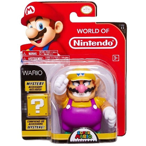 Wario with Mystery Accessory