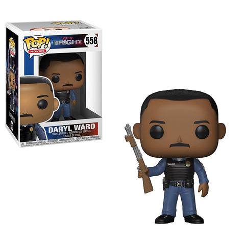 Funko POP Bright Daryl Ward Vinyl Figure