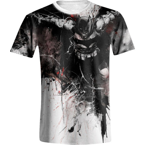 DC Batman Art Full White Printed Men