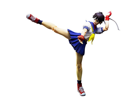 SH Figuarts Street Fighter Sakura Kasaugano Action Figure