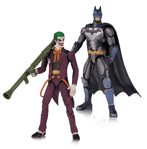 "DC Collectibles Injustice Batman and The Joker 3.75"" Action Figure (2-Pack)"