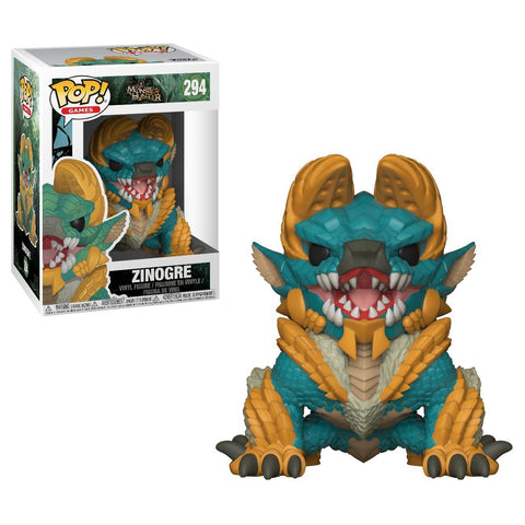 Funko POP! Monster Hunter Zinogre Vinyl Figure