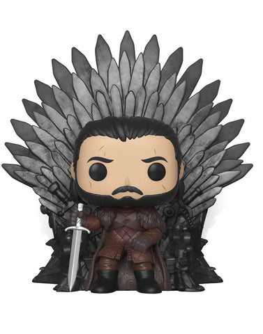 Funko POP! Game of Thrones Jon Snow Sitting On Throne Vinyl Figure