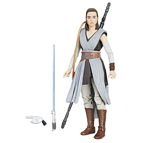 Star Wars The Black Episode 8 Series Rey Jedi Training 6-Inch Action Figure