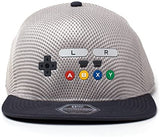 Nintendo - SNES Inspired Seamless Flat bill Cap Grey