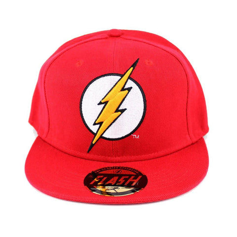 DC Comics The Flash Snapback Cap Red