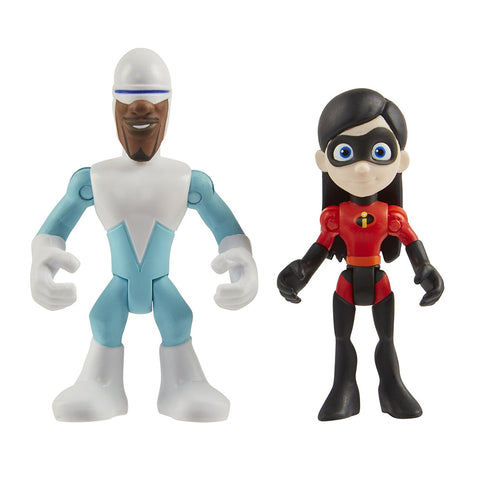 Disney's Incredibles 2 Frozone And Voilet Toy Figure