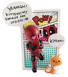 Beast Kingdom Deadpool Jump Out 4th Wall Mini Egg Attack Vinyl Figure