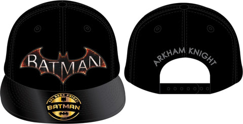 Batman Arkham Knight Logo Cap Black