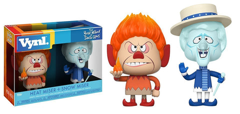 Funko POP The Year Without A Santa Claus Heat Miser And Snow Miser Vinyl Figure