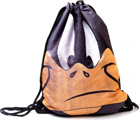 Looney Tunes Daffy Big Face Gym Bag