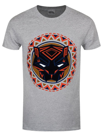 Black Panther Movie Logo In Circle T-Shirt
