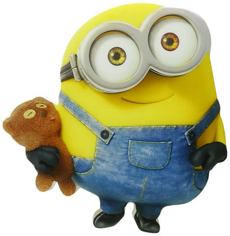Despicable Me Minions Bob 3D Deco Mini-Sized LED Wall Light