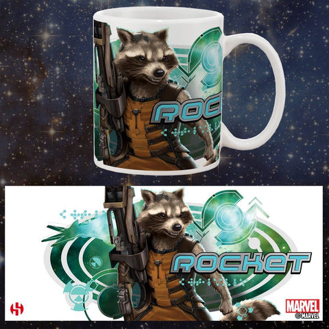 Guardians of the Galaxy - Rocket Raccoon Mug