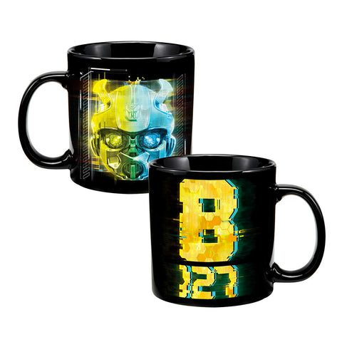 Transformers Bumblebee Heat Reactive Mug