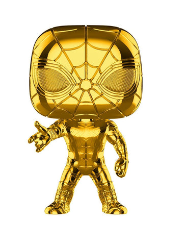 Funko POP! Marvel 10th Anniversary Chrome Iron Spider Vinyl Figure