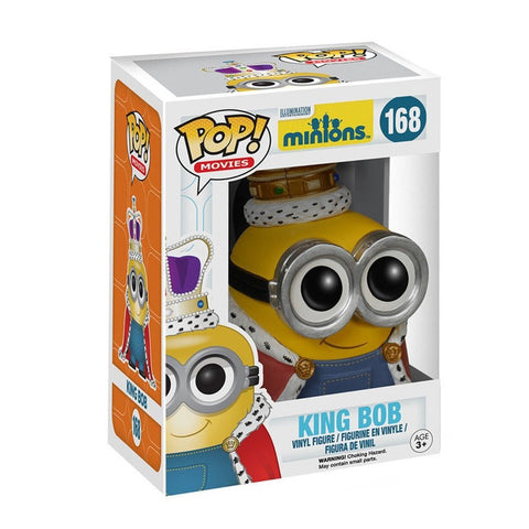POP Movies Minion King Vinyl Figure