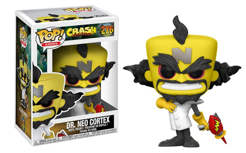Funko POP Games: Crash Bandicoot-Neo Cortex Collectible Figure