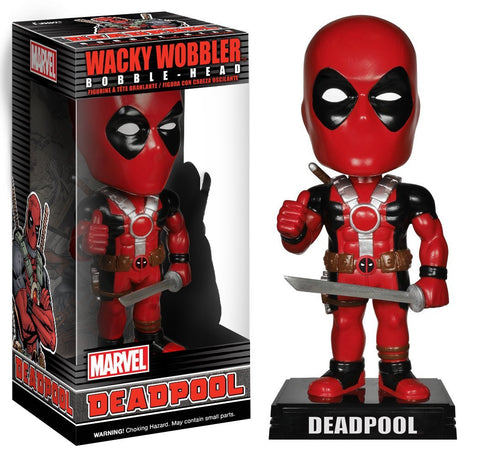 Marvel Deadpool Wacky Wobbler