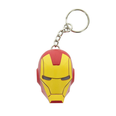 Iron Man LED Torch Keychain