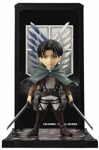 Attack on Titan: Captain Levi Tamashii Buddies Mini-Statue