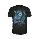 Funko Men's Pop Tees: Game of Thrones-Kings Ice Dragon T-Shirt