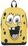 SpongeBob Square Pants Happy Face Backpack Yellow-Black