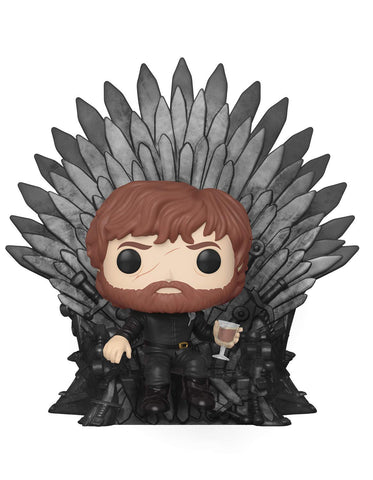 Funko POP! Game of Thrones Tyrion Lannister Sitting On Throne Vinyl Figure