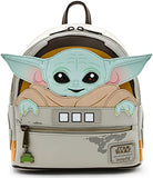 Loungefly Star Wars Baby Yoda The Mandalorian Womens Double Strap Shoulder Bag
