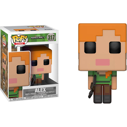 Funko POP! Minecraft Alex Vinyl Figure