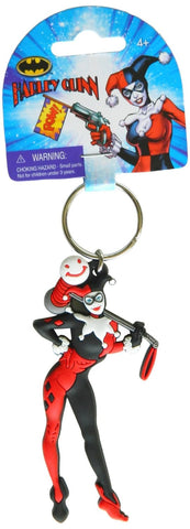 DC Harley Quinn Soft Touch PVC Key Ring