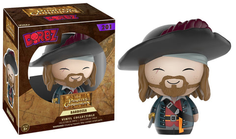 Dorbz Pirates of the Caribbean Barbosa Vinyl Figure