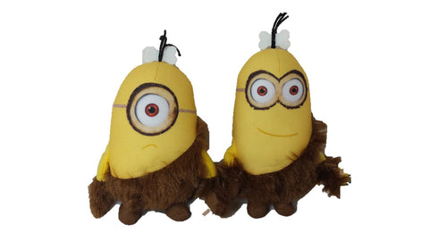 Minions Caveman Plush Assorted 15 cm