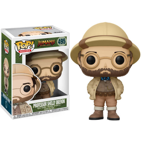 Funko POP! Jumanji Professor Shelly Oberom Vinyl Figure
