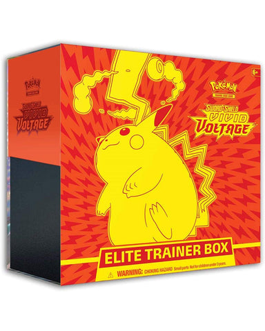 Pokemon TCG: Sword & Shield 4 Vivid Voltage Elite Trainer