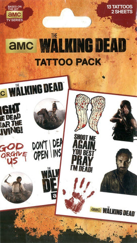 The Walking Dead Tatto Pack