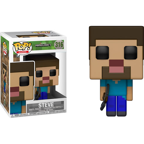 Funko POP! Minecraft Steve Vinyl Figure